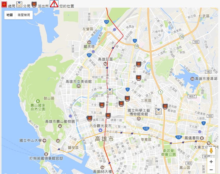 kmphmap